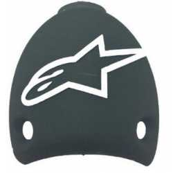 Alpinestars SMX5 Plus SMX5 GTX Heel Cap - Black White GBL25TP11-12 2011 onwards