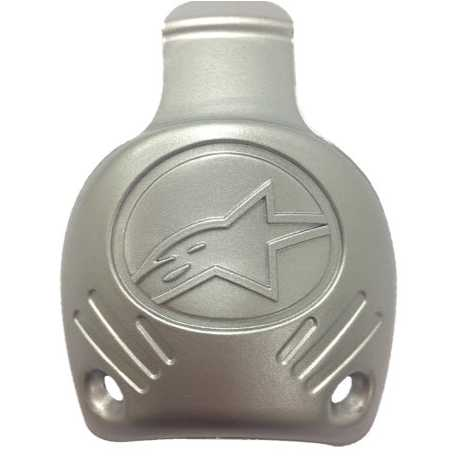25TP Alpinestars Supertech - SMX plus Replaceable Heel cap / Silver