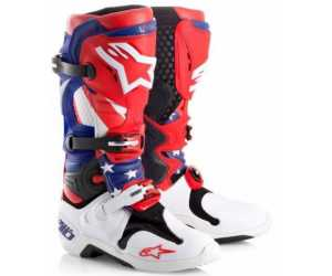 Alpinestars Tech 7 2007 onwards soles and fitting Wht/Black inserts
